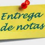 ENTREGA DE NOTAS 2º TRIMESTRE